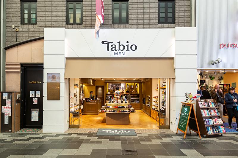 Tabio MEN 京都寺町店イメージ